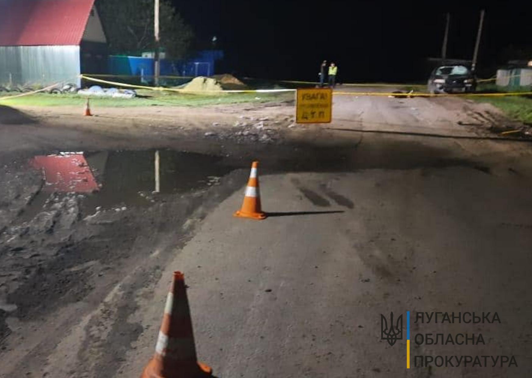 Смертельна ДТП на Луганщині: водія, який скоїв наїзд на чотирьох підлітків, взято під варту без права внесення застави